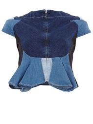 джинсовый топ в стиле пэчворк  Anrealage