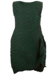 гофрированное платье Issey Miyake