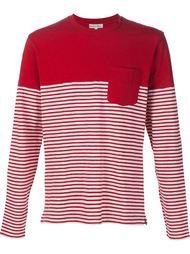 striped print T-shirt Alex Mill