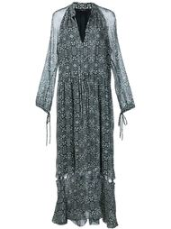 psychedelic print cut-out dress Derek Lam