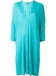платье-кафтан с V-образным вырезом N.Peal