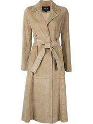 пальто с поясом Derek Lam