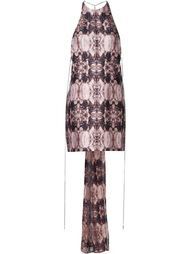 abstract print dress Thomas Wylde