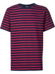 футболка в полоску A.P.C.