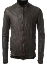 приталенная куртка на молнии Salvatore Santoro