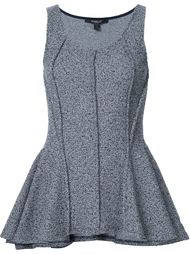 peplum structured tank top Derek Lam