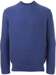свитер вафельной вязки N.Peal