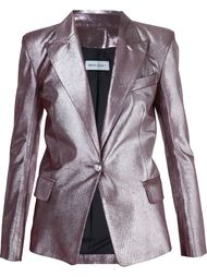 metallic blazer Beau Souci