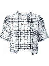 блузка в клетку Fad Three