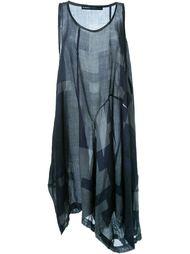 платье с геометрическим принтом Rundholz