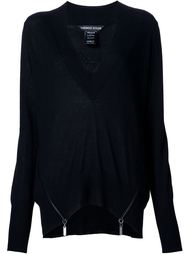 crystal-embellished sweater Thomas Wylde