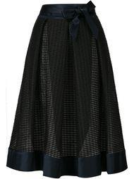плиссированная юбка миди Martin Grant