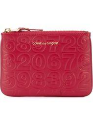 embossed coin purse Comme Des Garçons Wallet