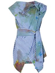 stained stripe blouse Vivienne Westwood Anglomania