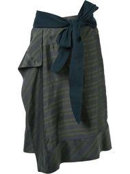 полосатая юбка A.F.Vandevorst
