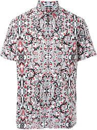рубашка с принтом  Tomas Maier
