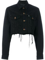 укороченная джинсовая куртка Blackyoto