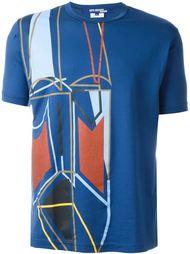 футболка с абстрактным принтом Junya Watanabe Comme Des Garçons Man