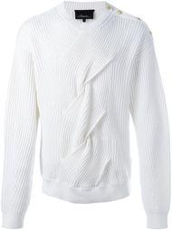 свитер с плетеными деталями 3.1 Phillip Lim