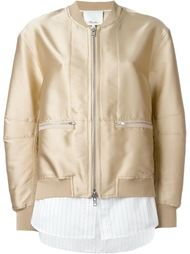 shirt tail bomber jacket 3.1 Phillip Lim