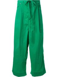 'Crinkle' cropped trousers Craig Green