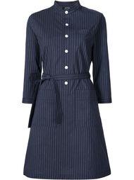 платье-рубашка в полоску A.P.C.