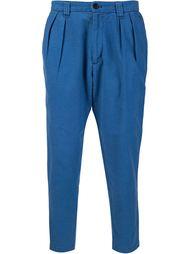 зауженные книзу брюки Blue Blue Japan