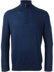 свитер 'The Regent' с горловиной на молнии N.Peal