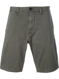 шорты-чинос прямого кроя Armani Jeans