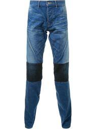 джинсы с панельным дизайном  Anrealage