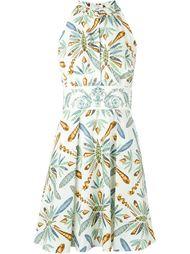 платье с принтом  Versace Collection