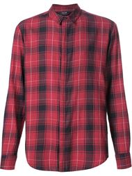 checked long sleeve shirt Neuw