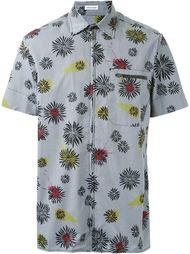 рубашка с цветочным принтом   Tomas Maier