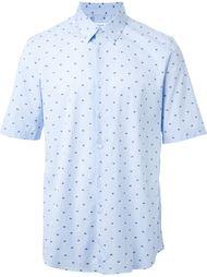 рубашка 'crab check'  Jil Sander