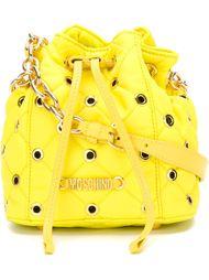 стеганая сумка-мешок через плечо  Moschino