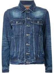 'Right Hans Left Hand' denim jacket  Anrealage