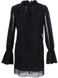 lace detailing shift short dress Derek Lam