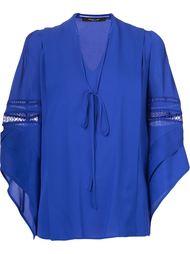 lace elbows detailing blouse Derek Lam