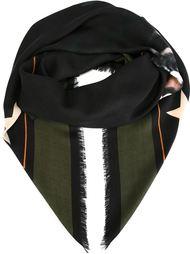 шарф с рисунком ротвейлера Givenchy