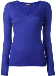 superfine v-neck sweater N.Peal