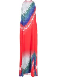 длинное платье с вырезом-халтер Baja East