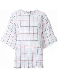 блузка свободного кроя с вышивкой Fad Three