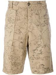 классические шорты-чинос 'Cartoons' Kenzo