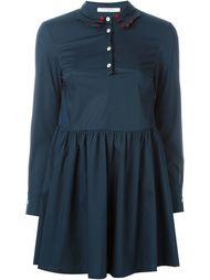 мини-платье с воротником в форме рук Vivetta