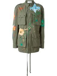 пальто карго с принтом  Faith Connexion