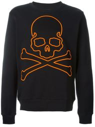 embroidered skull sweatshirt Philipp Plein