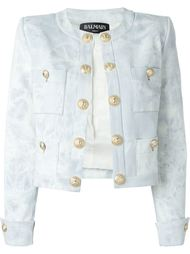 джинсовая куртка Balmain