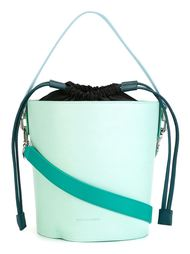 сумка-мешок в стиле колор-блок  J.W. Anderson