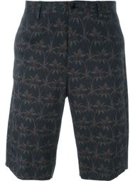 palm print shorts PS Paul Smith