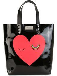 сумка-тоут с принтом сердца Sonia By Sonia Rykiel